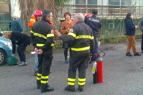 Vigilanza antincendio - Esercitazione